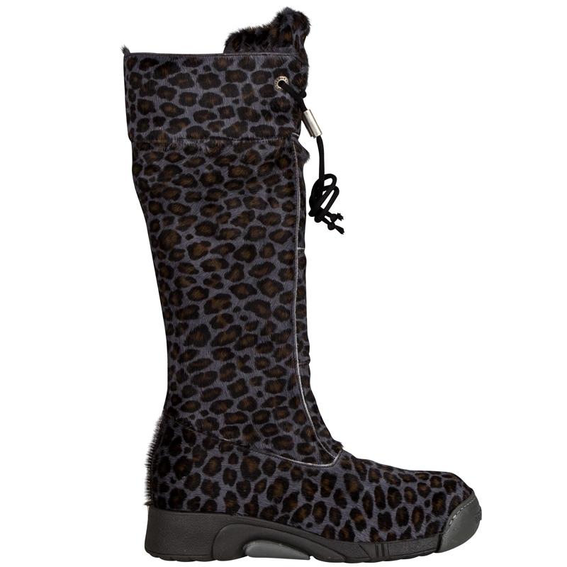 e1d98af9fe5 Bumper. Blå / grå leopard pels. - Nyegaardsko.dk
