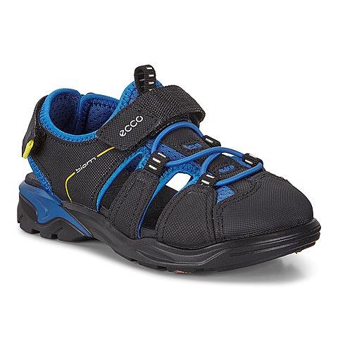 9c8756040648 Ecco Biom Raft. Black   Bermuda   Blue. Kids. Sandal.