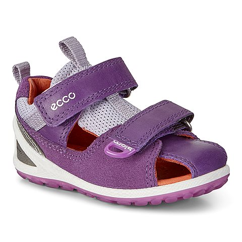 Ecco Biom Lite Infants Sandal. Imperial Purple Imp. Kids sandal.