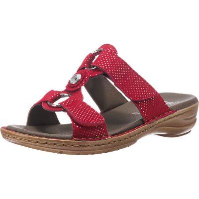 afcb7d2b73b4 Ara Hawaii. Red. Leather. Slippers. Sandal.