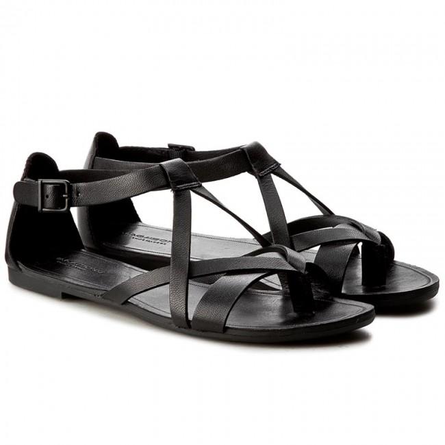 Vagabond Tia 4331 301 20. Black Leather Sandal.
