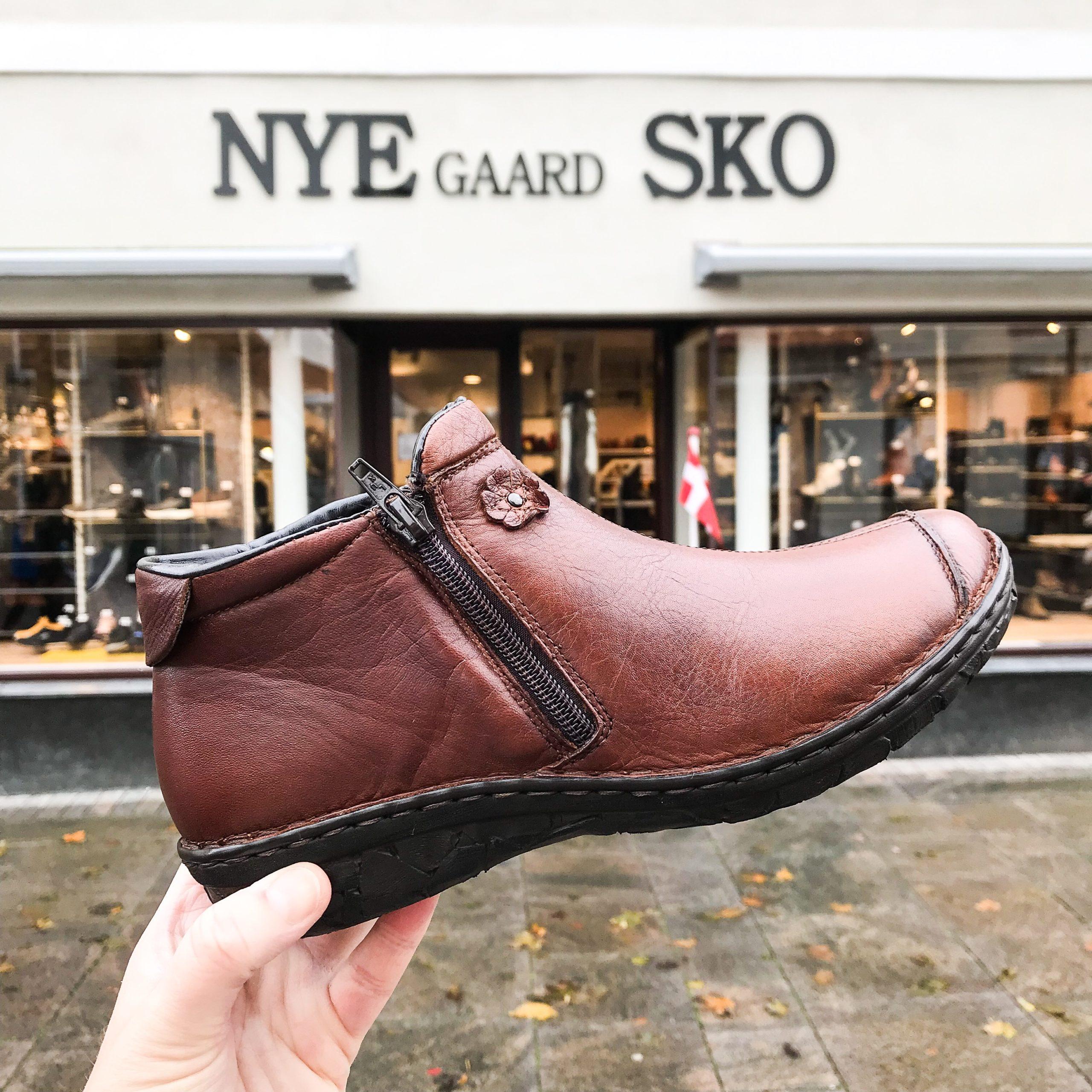 Relaxshoe Ankel Støvle Cognac – Shoe And Style
